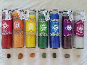 KC chakra candles